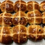 Hot Cross Buns in Tray